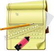 Vector notepad XXL icon