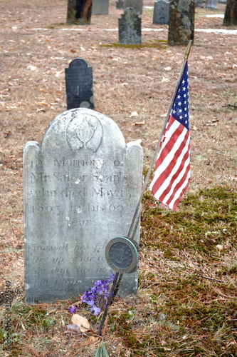 Revolutionary War Hero Grave Site