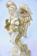 Engel gold-weiß