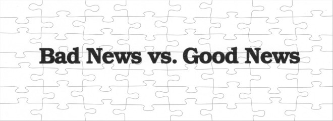 Bad news vs good news