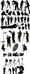 Photographer Illustrations