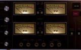 vu meter input output poster