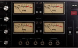 Playback recording VU Meters and knobs input output poster