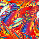 Fototapety Exotic feather