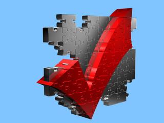 Abgehagt - Puzzle - 3D