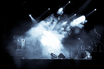 Stage In Lights - Selen