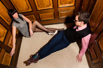 elevator couple needs help