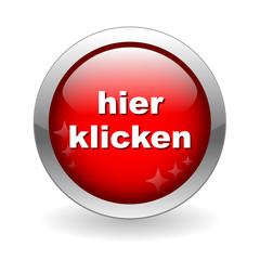 HIER KLICKEN Knopf (web internet button taste clicken sie)