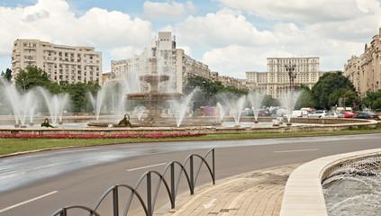 Bucharest city center