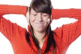 jeune fille et nuisances sonores poster