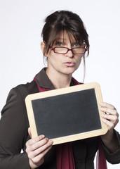 femme active en recrutement