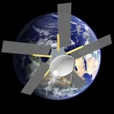 Il satellite in orbita terrestre - Earth's orbit satellite