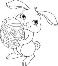 Easter Bunny farbowanie strona