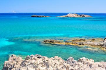Beautiful seascape of the Mediterranean