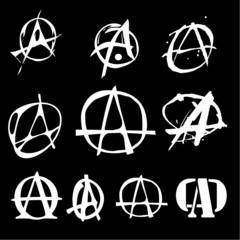 anarchy logo 10 items