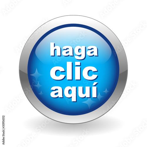 Click Here Button. (click here button ratón