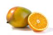 Orange und Mango