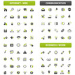 big green grey iconset