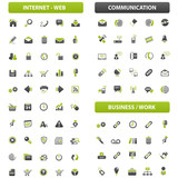 big green grey iconset