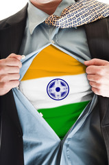 India flag on shirt