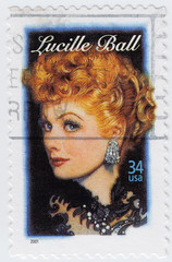 American actress, Lucille Ball