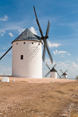Windmills at Campo de Criptana (Spain)