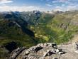 Geiranger fiord scenery, Norway