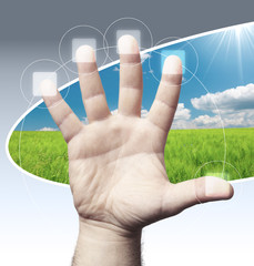 mano e digitale