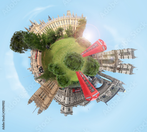 planet with several references to London