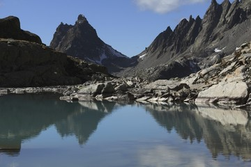 Fasulspitze, Austria, Tirol, Verwall range