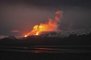 Thorsmork, Fimmvorduhalsi Eruption, Iceland