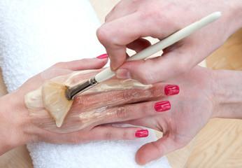 hand skin treatment