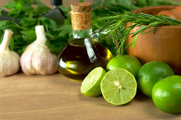 Limes and other seasonings