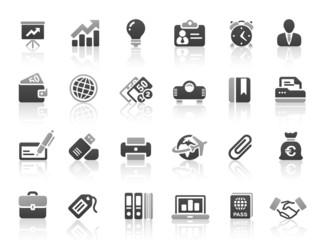Black Gray Vector Icons