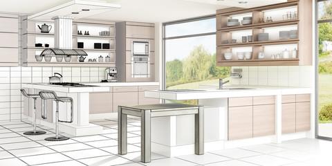 Küchen-Design I (3d)