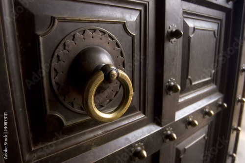 Wooden door,Amber Palace, Jaipur ,Rajasthan,India