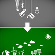ecology banners 2 - sustainable development concept