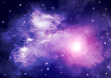 Fototapety Galaxies and stars in the night sky