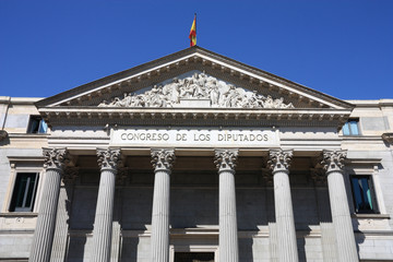 Madrid - Congress building