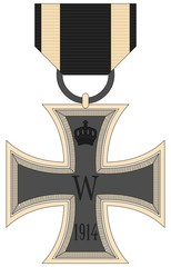 German Iron Cross award ( World War I )