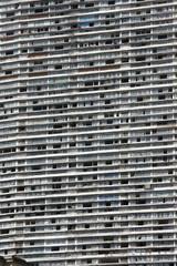 Zerstörte Hausfassade in Sao Paulo