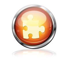 Boton futurista simbolo plugin