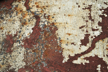 Cracked rust textrure