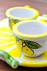 Tazzine per limoncello