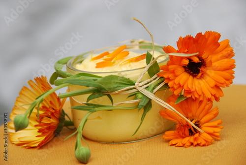 Ringelblumensalbe (Calendula )Herstellung Naturkosmetik
