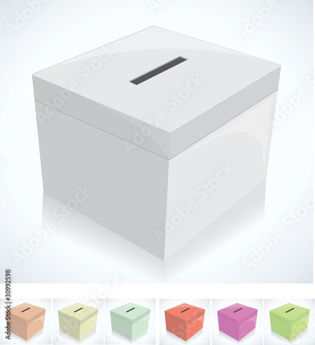 election box - ballot box
