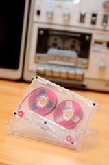 musik cassette radio recorder