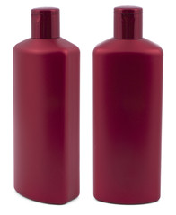 Shampoo red bottle