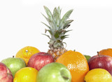 Ananas et fruit