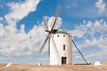 Windmill at Campo de Criptana (Spain)